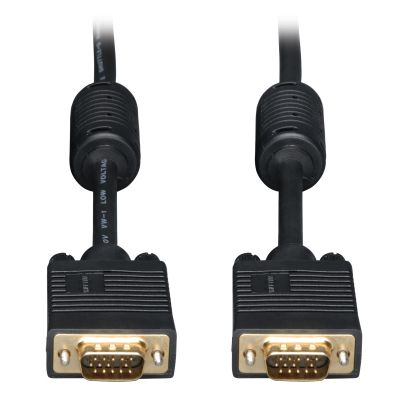 CABLE TRIPP LITE VGA COAXIAL HD15 MACHO 6.10M NEGRO P502-020