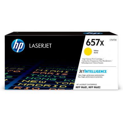 TONER HP 657X AMARILLO 23,000 PAGINAS P/M681 CF472X