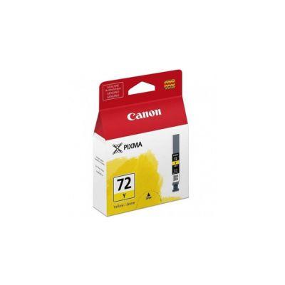 CARTUCHO TINTA CANON PGI-72 AMARILLO 14ML RENDIMIENTO 85 PAGINAS