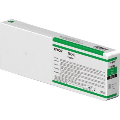 CARTUCHO DE TINTA VERDE EPSON T804B00 ULTRACHROME HD 700ML