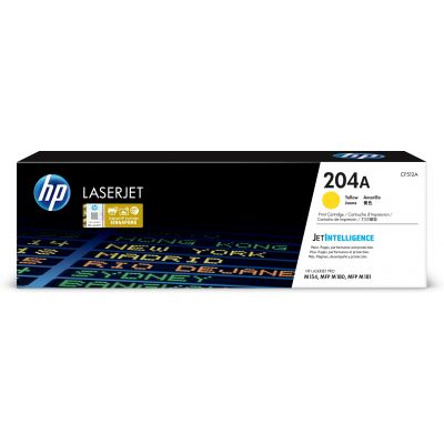 TONER LASERJET HP 204A AMARILLO 900 PAGS CF512A