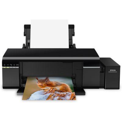 IMPRESORA EPSON ECOTANK  L805 INYECCION FOTOGRAFICA Y DVD'S C11CE86301