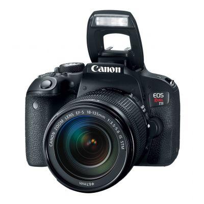 "CAMARA CANON EOS REBEL T7i, EF-S 18-55mm IS STM KIT, 24.2MPX, 3.0"""
