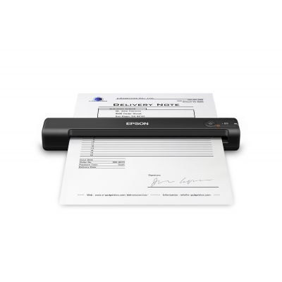 ESCANER PORTATIL EPSON WORKFORCE ES-50 USB 7 PP 600 DPI (B11B252201)