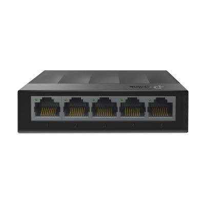 SWITCH NO ADMINISTRABLE 5 PUERTOS TP-LINK LS1005G NEGRO 3.7 W