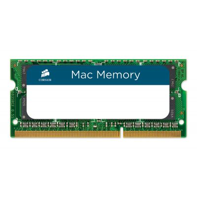 MEMORIA SODIMM DDR3 CORSAIR 4GB 1333Mhz APPLE QUALIFIED CMSA4GX3M1A13