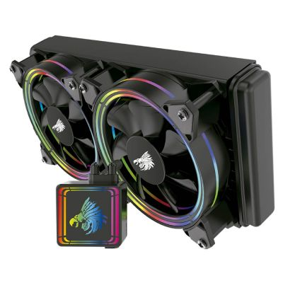 ENFRIAMIENTO LIQUIDO EAGLE WARRRIOR CYCLON RGB 240MM LGA1151 Y AM4