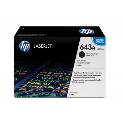 TONER HP NEGRO 643A LASERJET Q5950A