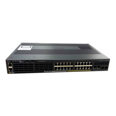 SWITCH ADMINISTRABLE CISCO CATALYST WS-C2960X-24PSQ-L 24 PUERTOS, POE+