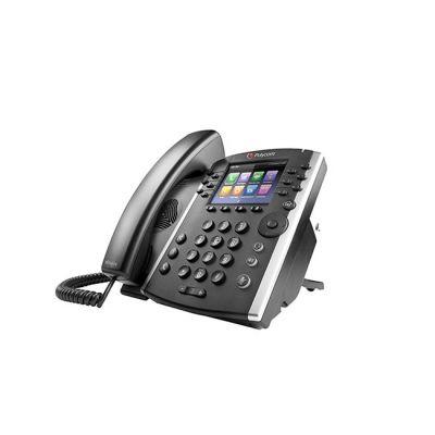 TELEFONO POLYCOM VVX 401 TFT 12 LINEAS NEGRO