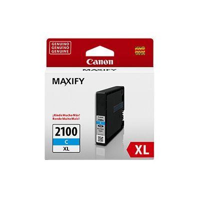 CARTUCHO TINTA CANON PGI-2100XL CIAN 19.3ML ALTO RENDIMIENTO 1755 PAGS