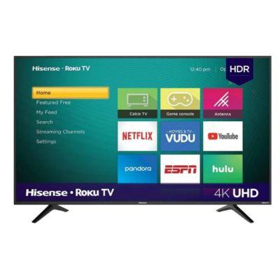 """PANTALLA HISENSE 65R6000FM 65"""" SMART TV 4K 3480x2160 WIFI HDMI ROKU AM"""