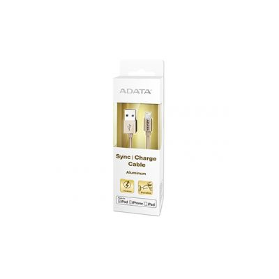 CABLE LIGHTNING ADATA ORO APPLE 1M CABLE LIGHTNING AMFIAL-100CM-CGD