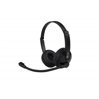 DIADEMA STYLOS CALL CENTER 3.5 RETRACTIL, ERGONOMICA (STSHCC1B)