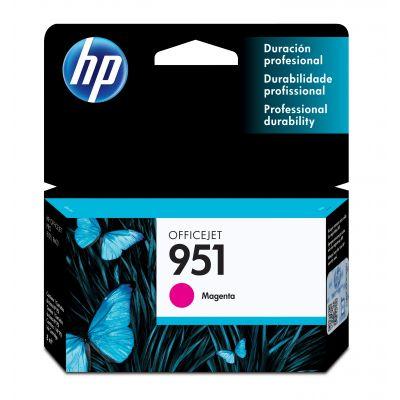 CARTUCHO HP 951 MAGENTA OFFICEJET PARA 8600/K8600/8600+/8100 (CN051AL)