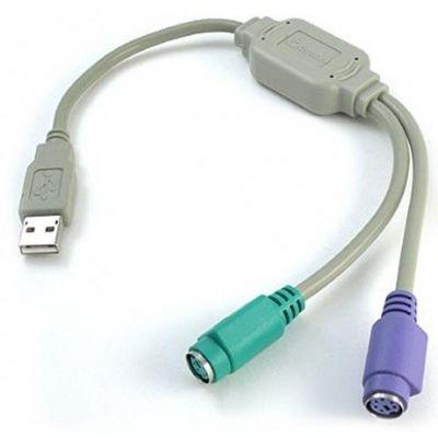 CONVERTIDOR USB A PS2 BROBOTIX 22CM GRIS