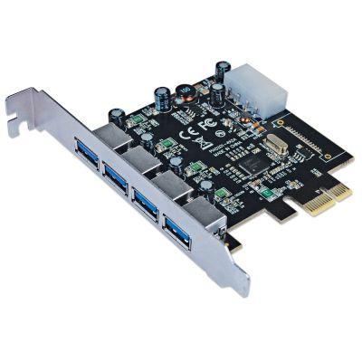 TARJETA USB MANHATTAN PCIe USB 3.0 4 PUERTOS 152891