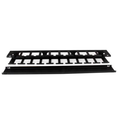 PANEL  HORIZONTAL 1U  CON CUBIERTA RACK  STARTECH CMDUCT1UX