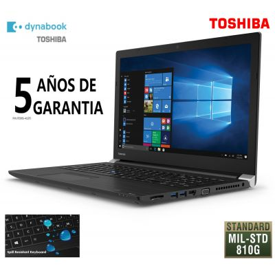"LAPTOP TOSHIBA A50-E 15.6"" CI7 8550U 16GB 512GB W10PRO PS595U-4LS07J"