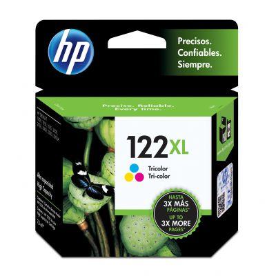 CARTUCHO HP 122XL TRICOLOR P/DESKJET 1000/2000/3050 (CH564HL)