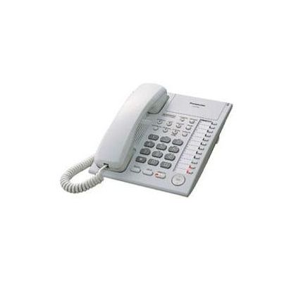 TELEFONO HIBRIDO PANASONIC ESCRITORIO COLOR BLANCO KX-T7750X