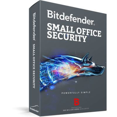 BITDEFENDER SMALL OFFICE SECURITY 10USR + 1SERVER  (TMBD-053)