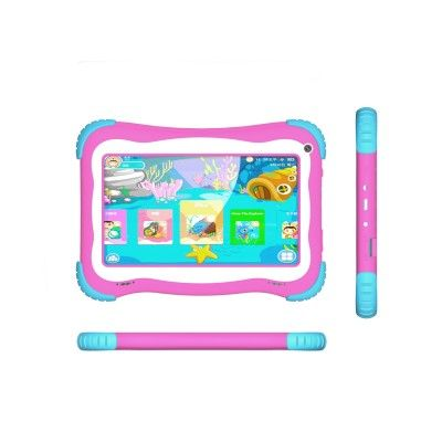 "TABLET KIDS 7"" STYLOS TARIS STTTA86P 4CORE 8GB 1GB ANDROID 8.1 ROSA"