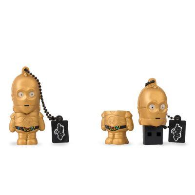 MEMORIA TRIBE STARWARS USB 8GB C-3PO BRAZO ROJO FD030407