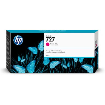CARTUCHO HP 727 MAGENTA 300ML P/T2530 F9J77A