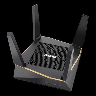 ROUTER INALAMBRICO ASUS RT-AX92U TRI-BAND WIFI 6 (802.11AX) VPN