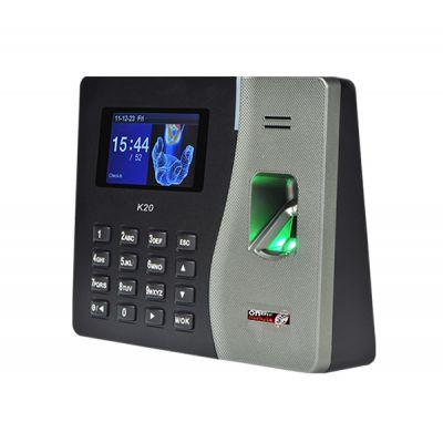 CONTROL DE ACCESO K20 TERMINAL HUELLA/RFDI/USB 100 EMPLEADOS