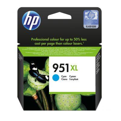 CARTUCHO HP 951XL CYAN OFFICEJET PARA 8600/K8600/8600+/8100 (CN046AL)