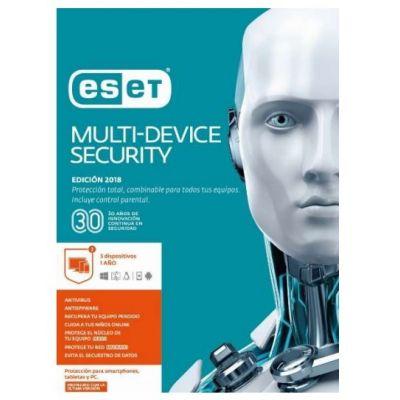 ESET MULTIDEVICE SECUTIRY 5USR 1YR V2018 (TMESET-206)