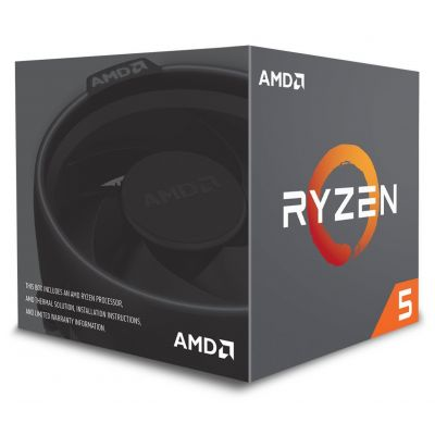 PROCESADOR AMD RYZEN 5 2600 6CORE WRAITH STEALTH COOLER 3.9GHz 65W AM4
