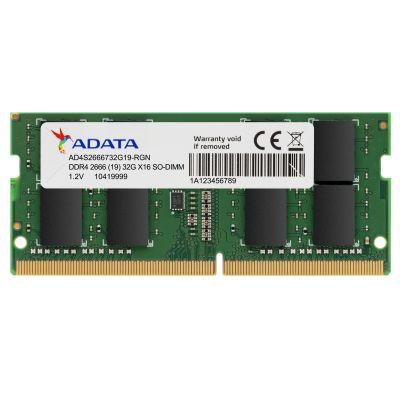 MEMORIA ADATA SODIMM 16GB DDR4 2666 Mhz (AD4S2666716G19-SGN)