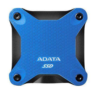 UNIDAD SSD EXTERNO ADATA SD600Q 480GB USB 3.1 AZUL ASD600Q-480GU31-CBL