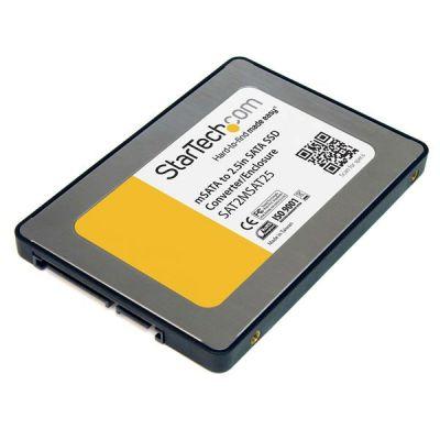 """CAJA ADAPTADORA SATA 2.5""""P/UNIDAD SSD MSATA  STARTECH SAT2MSAT25"""