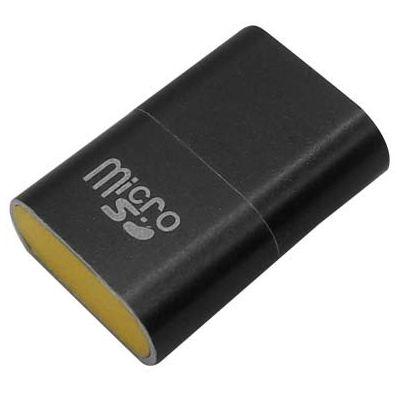 LECTOR DE TARJETAS MICRO SD BROBOTIX USB 2.0 NEGRO