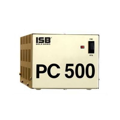 REGULADOR SOLA BASIC PC 500 FERRORESONANTE 500VA/500W 4 CONTACTOS