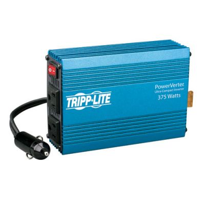 INVERSOR AUTOMOVILES TRIPPLITE 375W POWERVERTER 2 CONTACTOS PV375