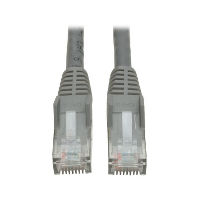 CABLE PATCH TRIPP LITE CAT6 RJ-45 MACHO 2.1M GRIS N201-007-GY