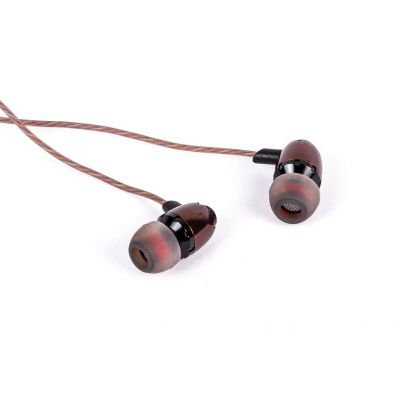 AUDIFONOS NACEB TECHNOLOGY INTRAAURAL ALAMBRICO 3.5MM MARRON NA-532