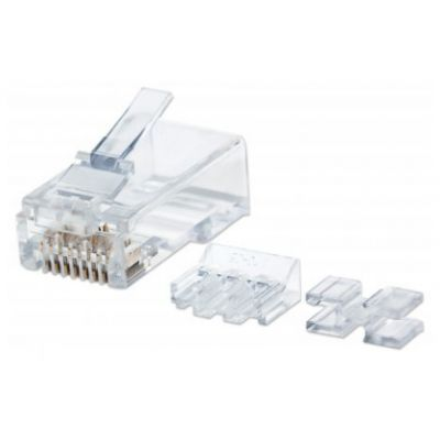 JACK CAT6E INTELLINETSTP RJ-45 TRANSPARETE 80 PIEZAS
