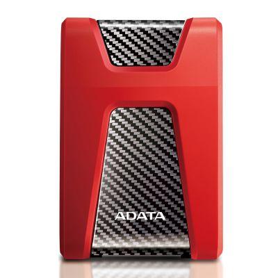DISCO DURO EXTERNO ADATA HD650 2TB 2.5 USB 3.1 ROJO (AHD650-2TU31-CRD)
