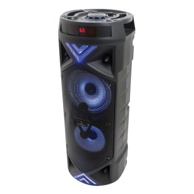 BOCINA AMPLIFICADA PERFECT CHOICE DUA 6.5 INALAMBRICO C/MIC PC-112938