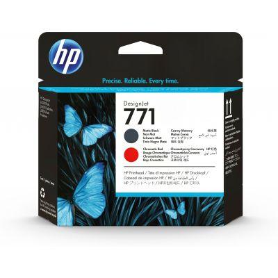 CABEZAL DE IMPRESION DESIGNJET HP 771 NEGRO MATE ROJO CROMATICO CE017A