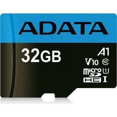 MEMORIA MICROSD ADATA AUSDH32GUICL10A1-RA1 32GB NEGRO CLASE 10