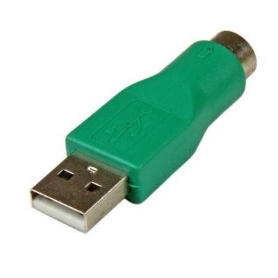 Adaptador Mouse PS/2 a USB USB A Macho MiniDIN Hembra  STARTECH GC46MF
