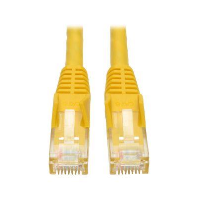 CABLE PATCH TRIPP LITE CAT6 UTP RJ-45 MACHO 1.52M AMARILLO N201-005-YW