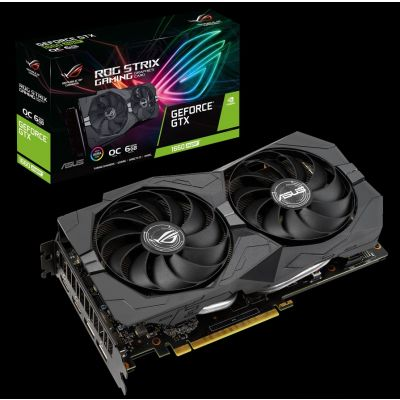 TARJETA DE VIDEO ASUS ROG STRIX GEFORCE GTX 1660 SUPER 6GB GDDR6